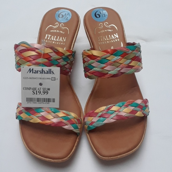 9b634cd0b892c Italian Shoemakers Women s Wedges